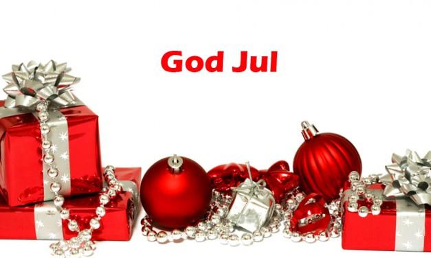 Öppettider under julhelgen